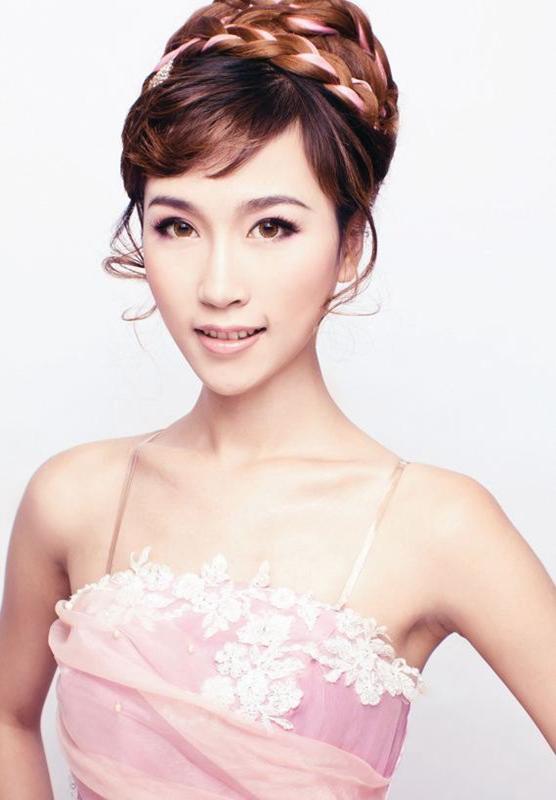 上海长宁区新娘妆时尚整体造型培训