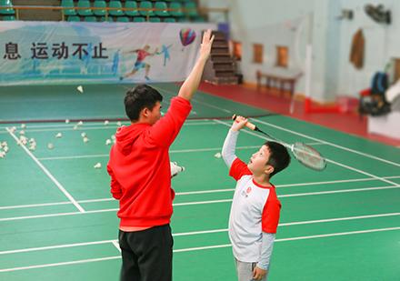 上海羽毛球培训课程教学