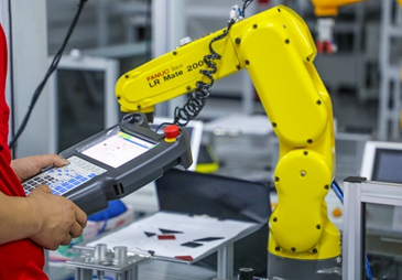 厦门工业机器人培训课程教学