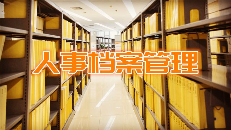 人事档案管理培训咨询