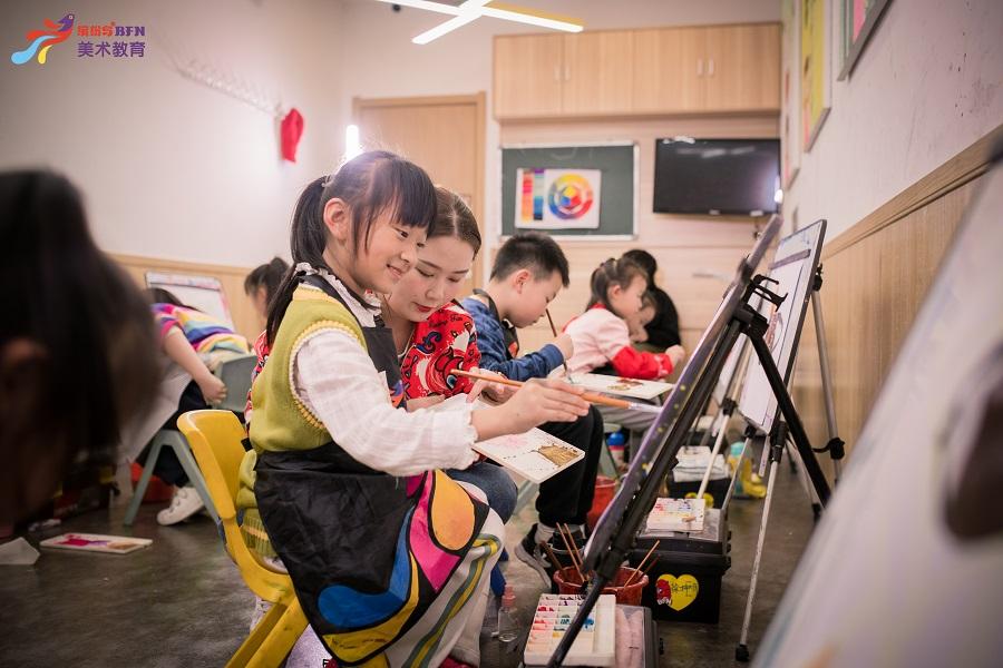 济南4-5岁儿童启蒙涂鸦课程