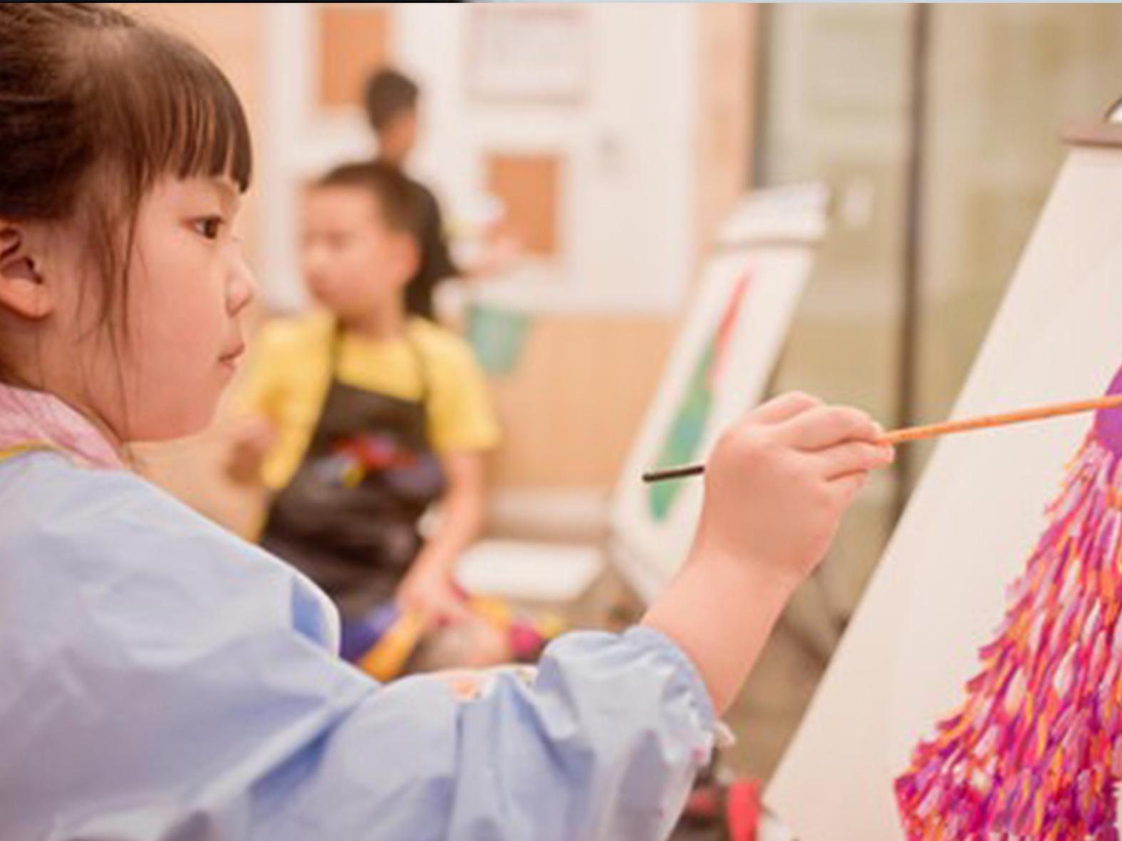 济南缤纷鸟少儿美术课程