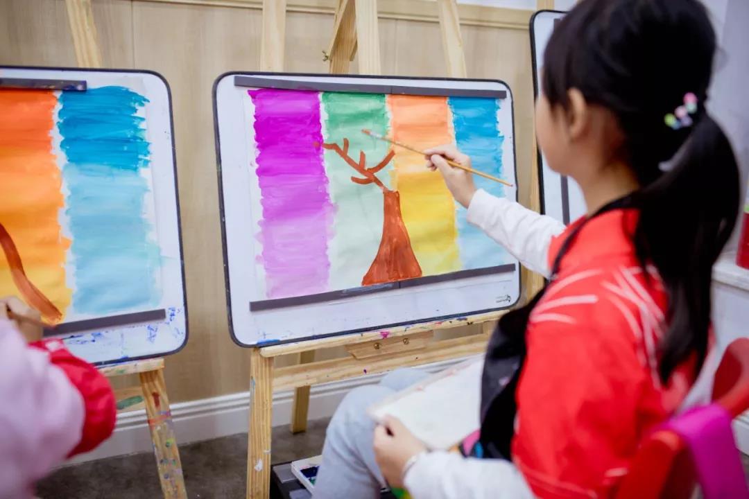 济南10-11岁儿童绘画印象色彩课程