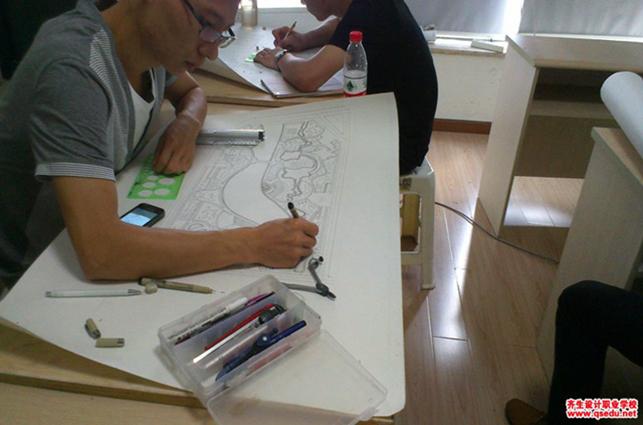 重庆景观设计效果图培训