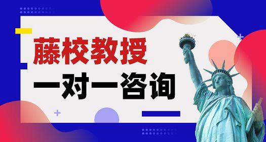 美国留学藤校教授一对一咨询北京出国留学机构